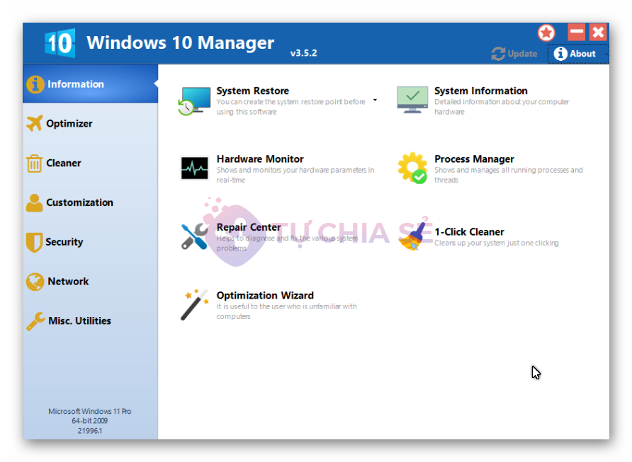 Windows 10 Manager 3